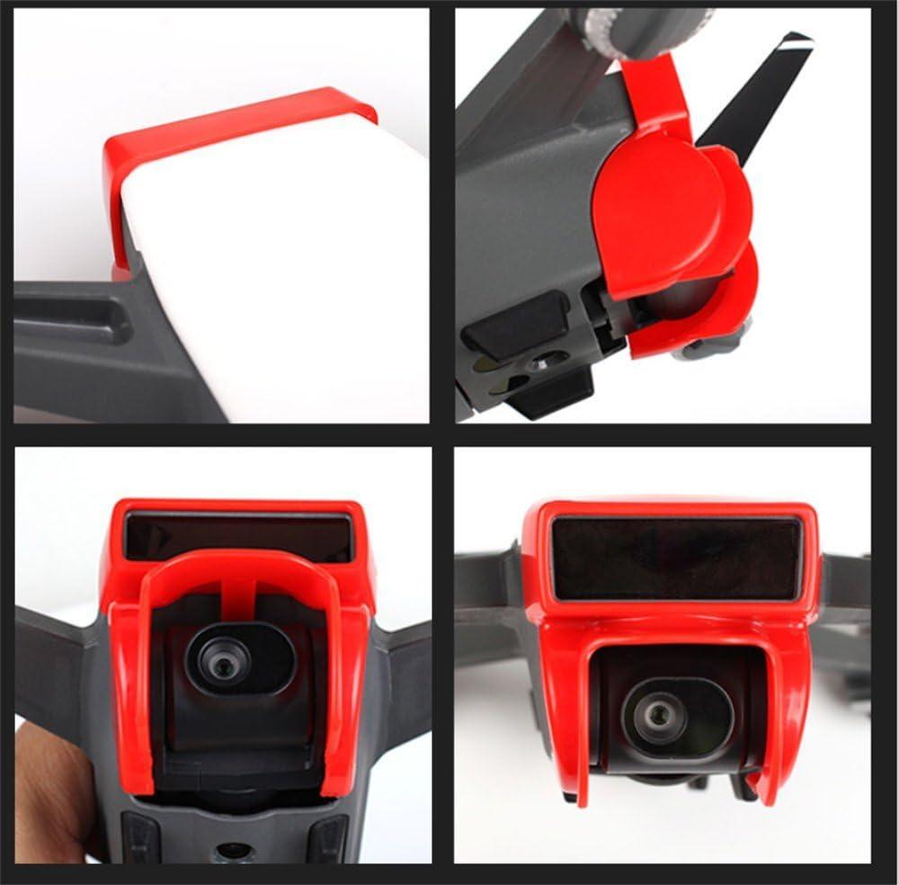 Xmipbs Anti-Glare Sun Shade Gimbal Protector Camera Lens Cover for DJI Spark Black