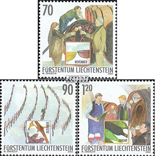Winemakers Collection - Liechtenstein 1333-1335 (complete.issue.) 2003 winemaker (Stamps for collectors)