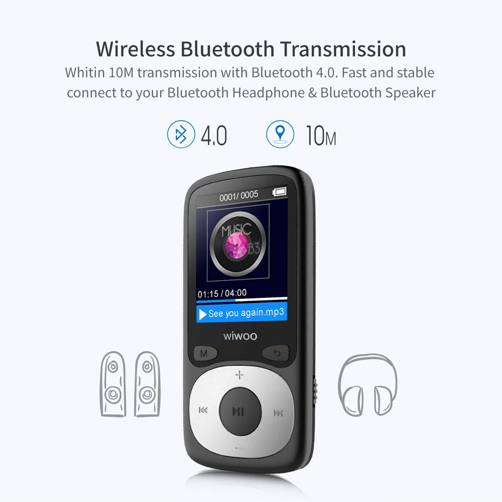 wiwoo mp3 player