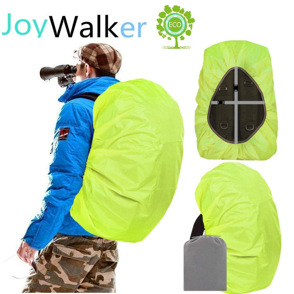 Joy Walker Waterproof Backpack Rain Cover for (15-90L) (Light Green, Large (for 40-55L Backpack)) by Joy Walker