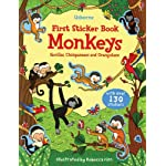 Monkeys (Usborne First Sticker Book)