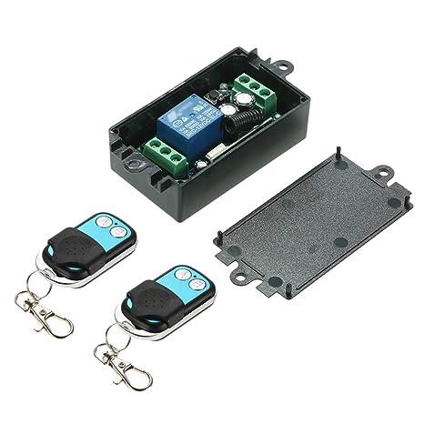 B Blesiya 3pcs Interruptor de Control Remoto Código ...