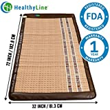InfraMat Pro™ 3 In 1 Healing Solutions - Infrared Heating Mat, Pain Relief 72'' X 32'' (Soft & Flexible) Adjustable Temperature Setting | Blanket-L-7232 | No EMF, FDA, 1-Year Warranty