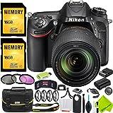 Nikon D7200 DSLR Digital Camera with Nikon 18-140mm Lens Outdoors Bundle