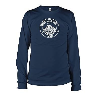 TEXLAB - Everest Base Camp Nepal - Langarm T-Shirt, Herren, Größe S
