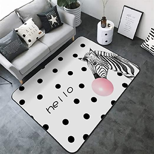 KFEKDT Nordic Simple Carpet Animal de Dibujos Animados Baby Game ...