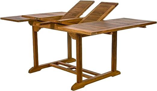 Todas las cosas Cedar teca mariposa plegable Patio juego de mesa y sillas de comedor – asientos 8: Amazon.es: Jardín
