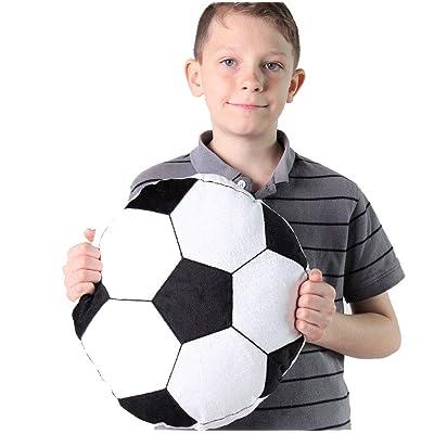 "Snuggle Stuffs Sporty Soccer Minky Plush 14\"" Throw Pillow: Toys & Games [5Bkhe0500670]"
