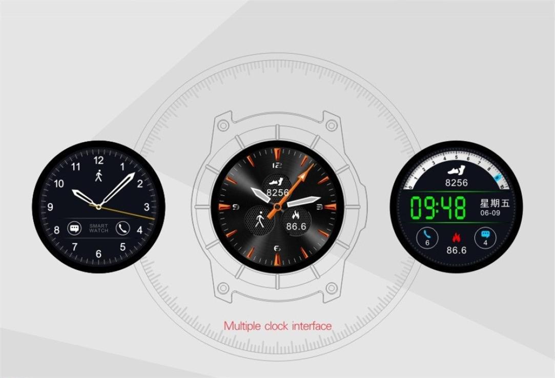 S958 Hombres de Bluetooth reloj inteligente GPS reloj ...