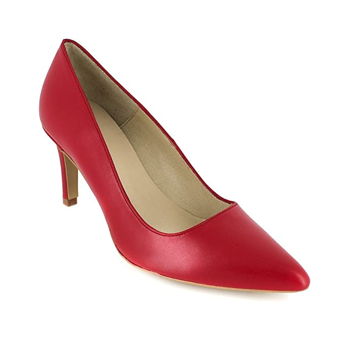 Chaussures J et Cuir BRADFORD Cloe JB Sacs Rouge Escarpin xnqYanpg
