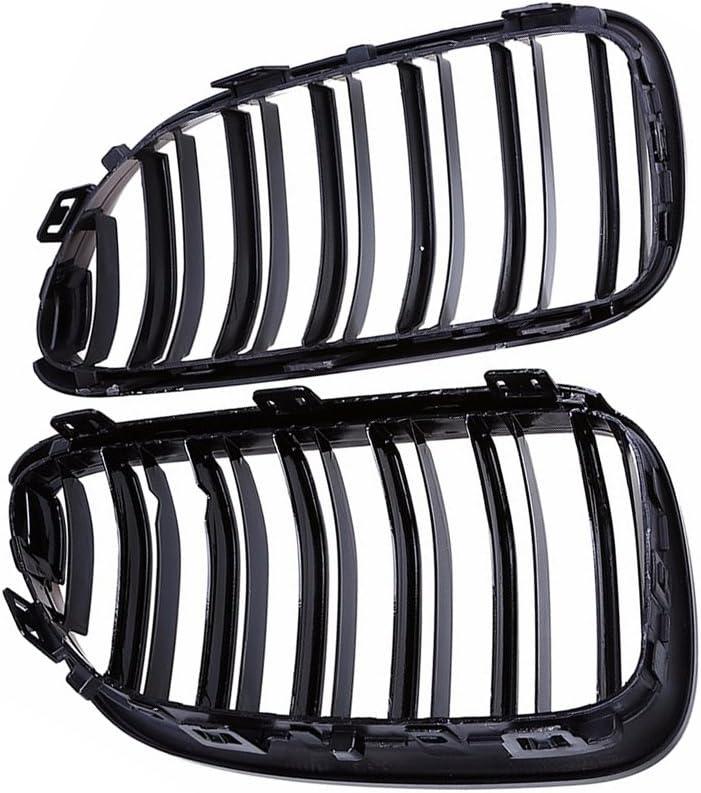 /14/griglie Rene nero sport grill doppia barra Nieren opaco nero brillante nero carbonio Griglia sport grill griglia anteriore per E92/E93/Serie 3/2D Coupe Cabriolet griglia 10/