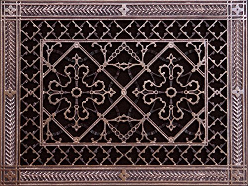 Decorative Grille, Vent Cover, or Return Register. Made of Urethane Resin to fit over a 10