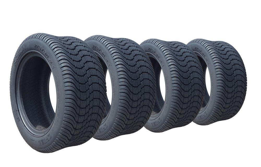 ARISUN 205/50-10 DOT Low Profile Golf Cart Tires - Set of 4 by Golf Cart Tire Supply (Image #1)