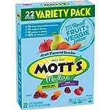 Mott's Medleys Snacks Variety Pack, Assorted Berry Fruit, 22 Count (Pack of 6)