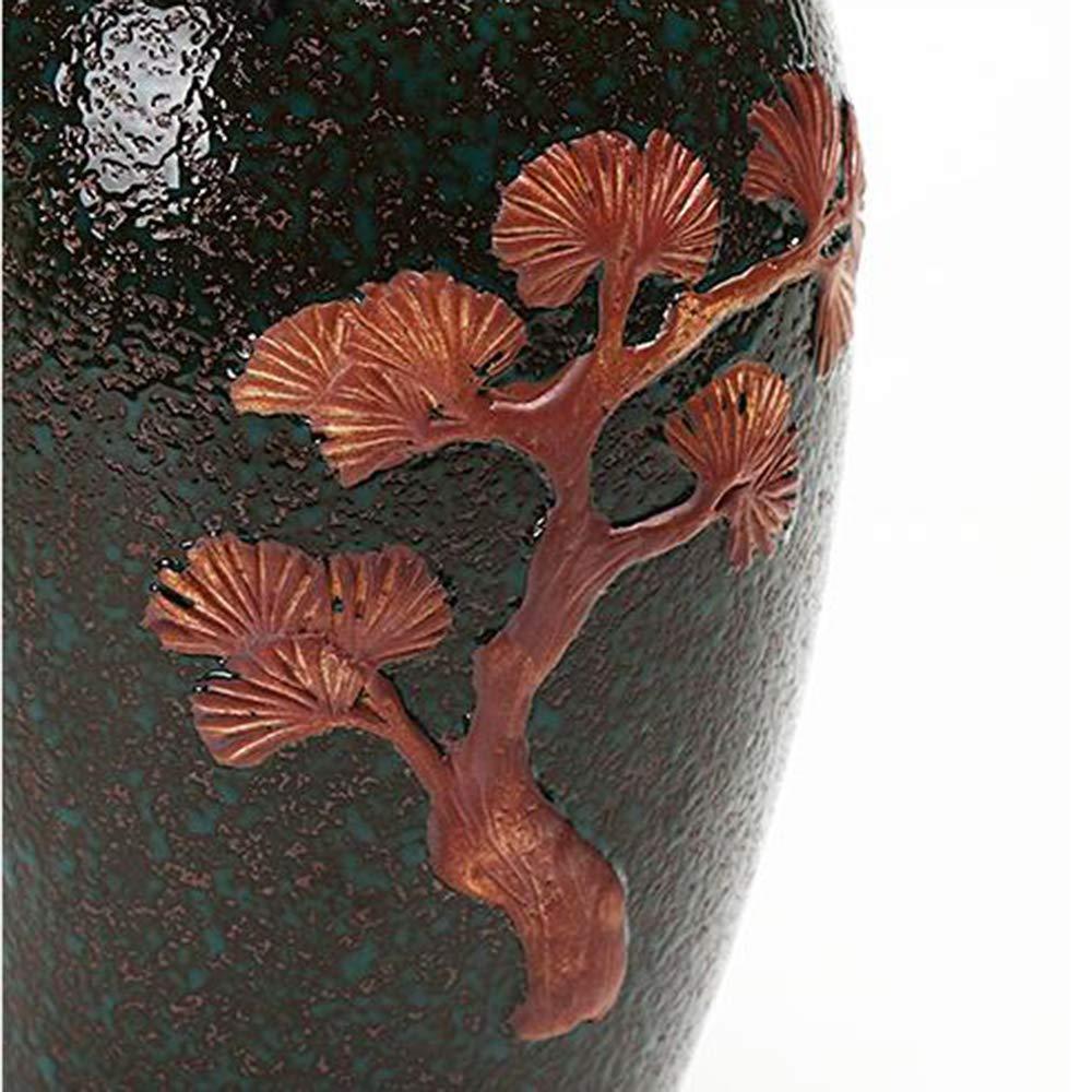 ANHPI-Urns Adulte Urne Funeraire Ceramique Grande Capacite Sceau /Étanche /à Lhumidit/é Fait /à La Main Urnes De Cremation pour Une Petite Quantite De Cendres Humaines Affichage,A