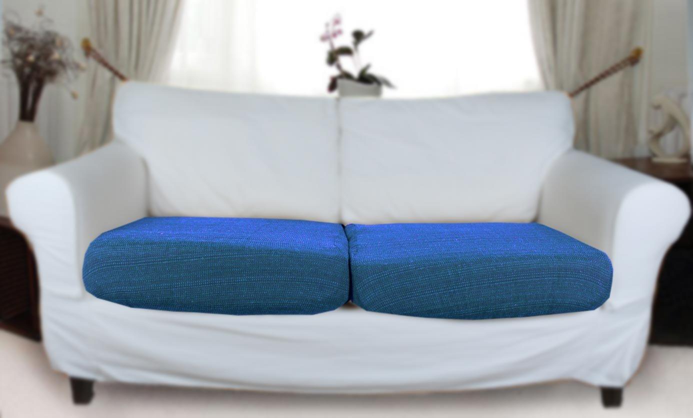 Stretch Sofa Cushion Covers Uk Www Redglobalmx Org ~ Light Blue Sofa Slipcovers