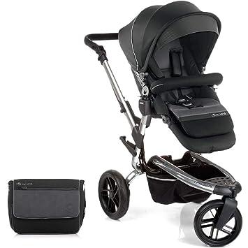 Jane paseo Trider todoterreno todo terreno carrito con accesorios a juego, color negro cromado: Amazon.es: Bebé