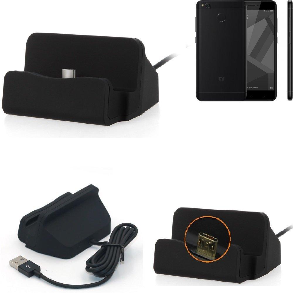K-S-Trade Base de Carga para Xiaomi Redmi 4X Micro USB ...