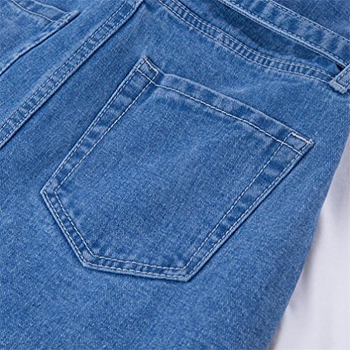 A Larghi mambain Skinny In Donna Denim Pantaloni Jeans B Elastico Lunghi Alta 8311 Vita tARq6w