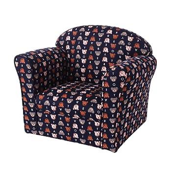 Prime Amazon Com Stuffed Plush Children Upholstered Chair Beatyapartments Chair Design Images Beatyapartmentscom
