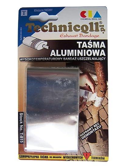 High Temperature Aluminium Adhesive Tape 12m50mm For Exhaust Pipes