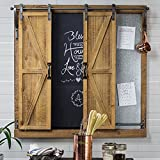 American Art Décor Rustic Wood and Metal