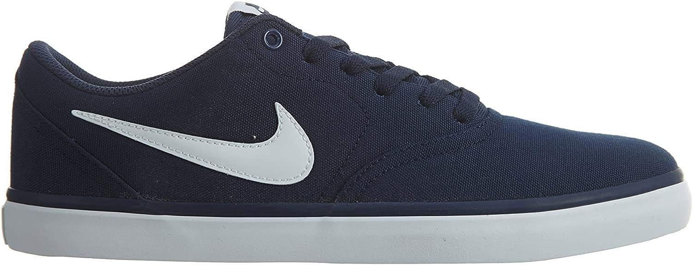 Nike Sb Check Solar Cnvs 843896400 Color Navy Blue Size 8 0 Clothing
