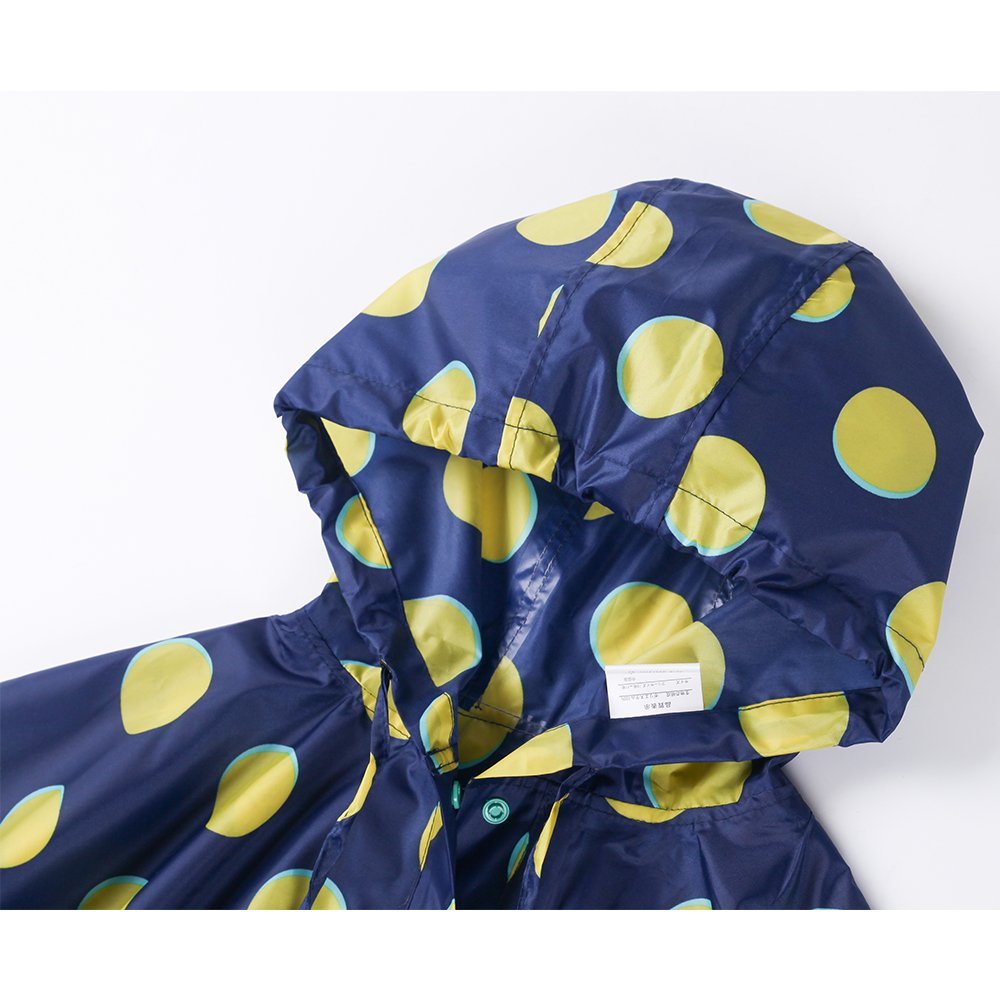 Absolutely Perfect Children Backpack Raincoat Hooded School Lightweight Ponchos