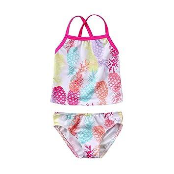 8f5db76891 ECYC Prinzessin Baby Mädchen Badeanzug Zwei Stück, heiße Baby Mädchen Split  Bikini Mädchen Sommer Strand