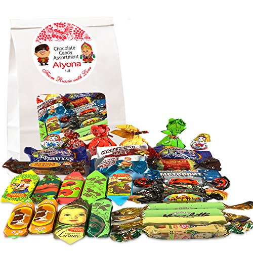 (Gourmet Russian and Ukrainian Chocolate Candy Assortment, 1 lb/ 0.45 kg by Gourmet Gifts)