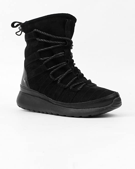 70763cff0e63d Nike Roshe One Hi-Top Suede Trainers Winter Boots Shoes for Ladies ...