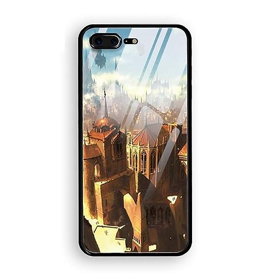 new concept c5ba2 f7c1a Amazon.com: Fantasy City Magic The Gathering Ravnica iPhone 8 Plus ...