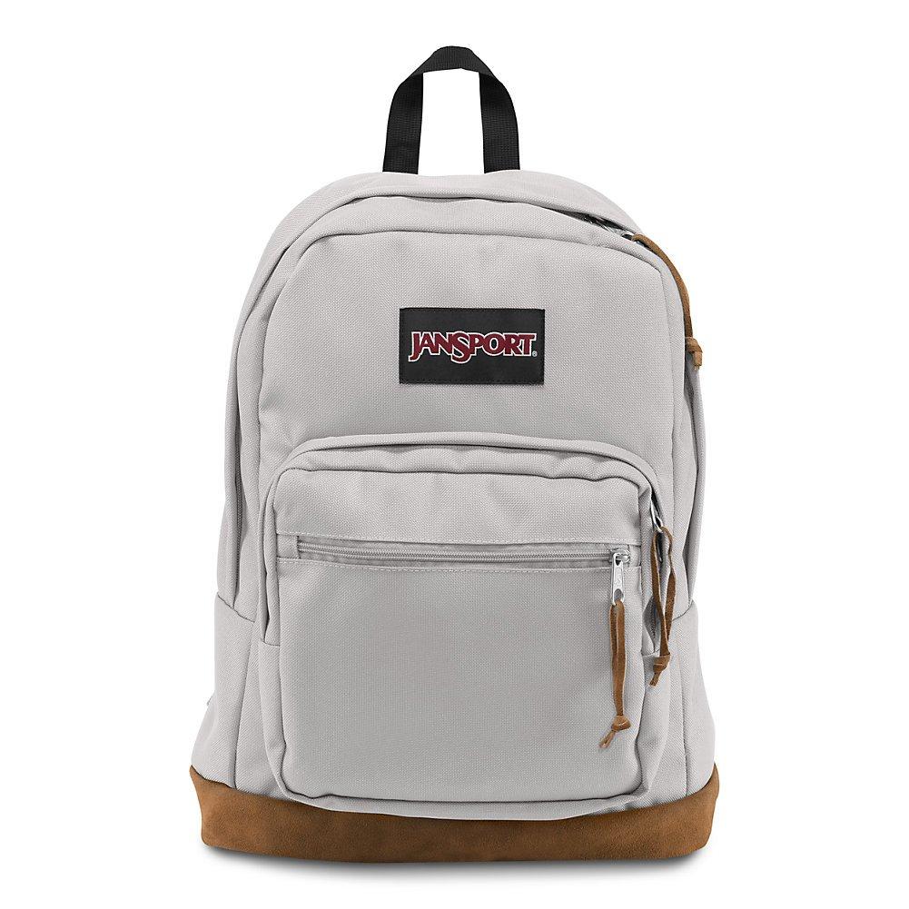 JanSport Right Pack Laptop Backpack - Grey Rabbit