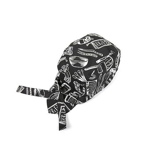 22 opinioni per LEORX Cappelli Headwrap Cappellini Bandana (Nero + Bianco)