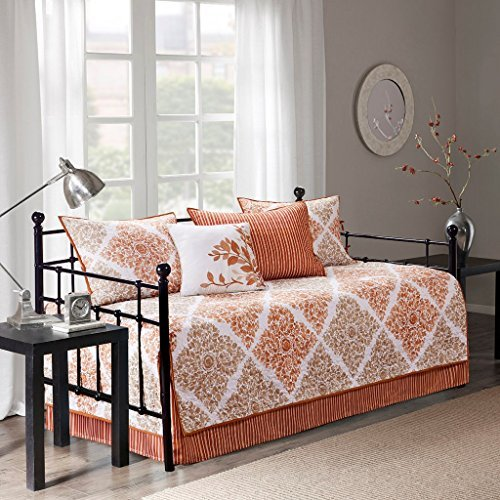 Madison Park Claire Bedding Set, Daybed, Aqua MP13-3972