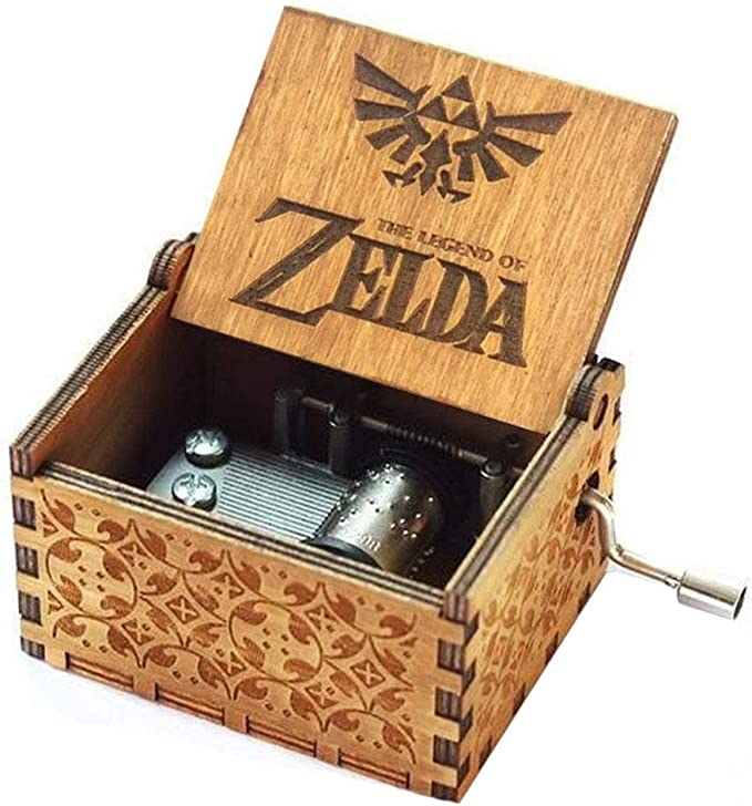 Spieluhr Zelda Music Box 18 Note Antique Carved Musical Box Best Gift For Kids Friends Amazon De