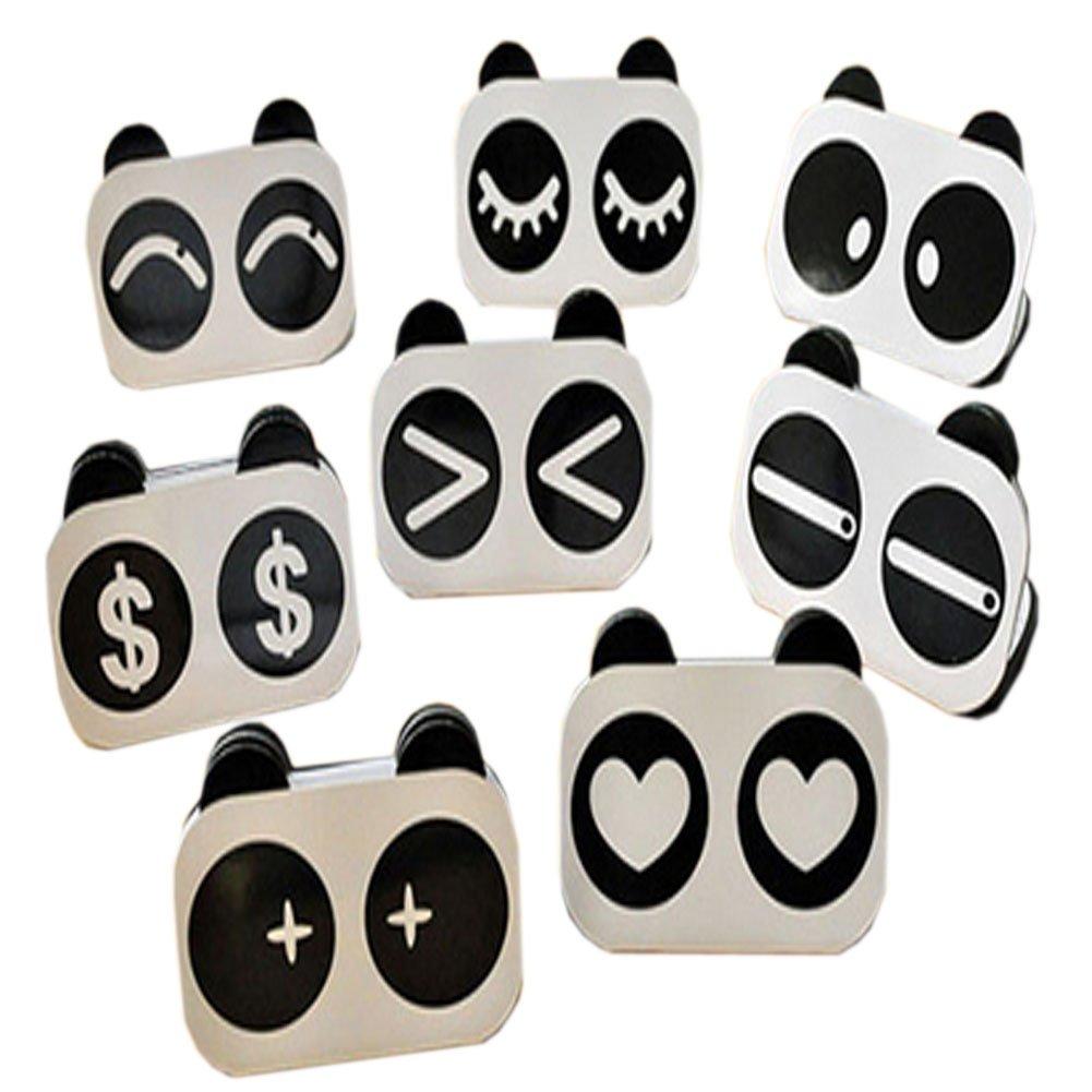 Set of 2 Lovely Fashion Panda Pattern Account-Book Financial Book, Random Style