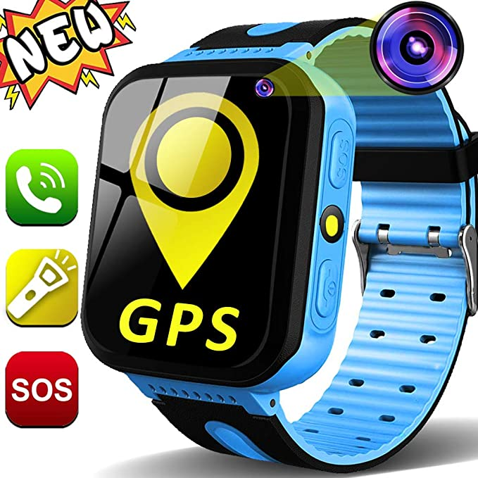 Kids Smart Watch Phone for Girls Boys Age 3-12 with GPS Tracker 1.44