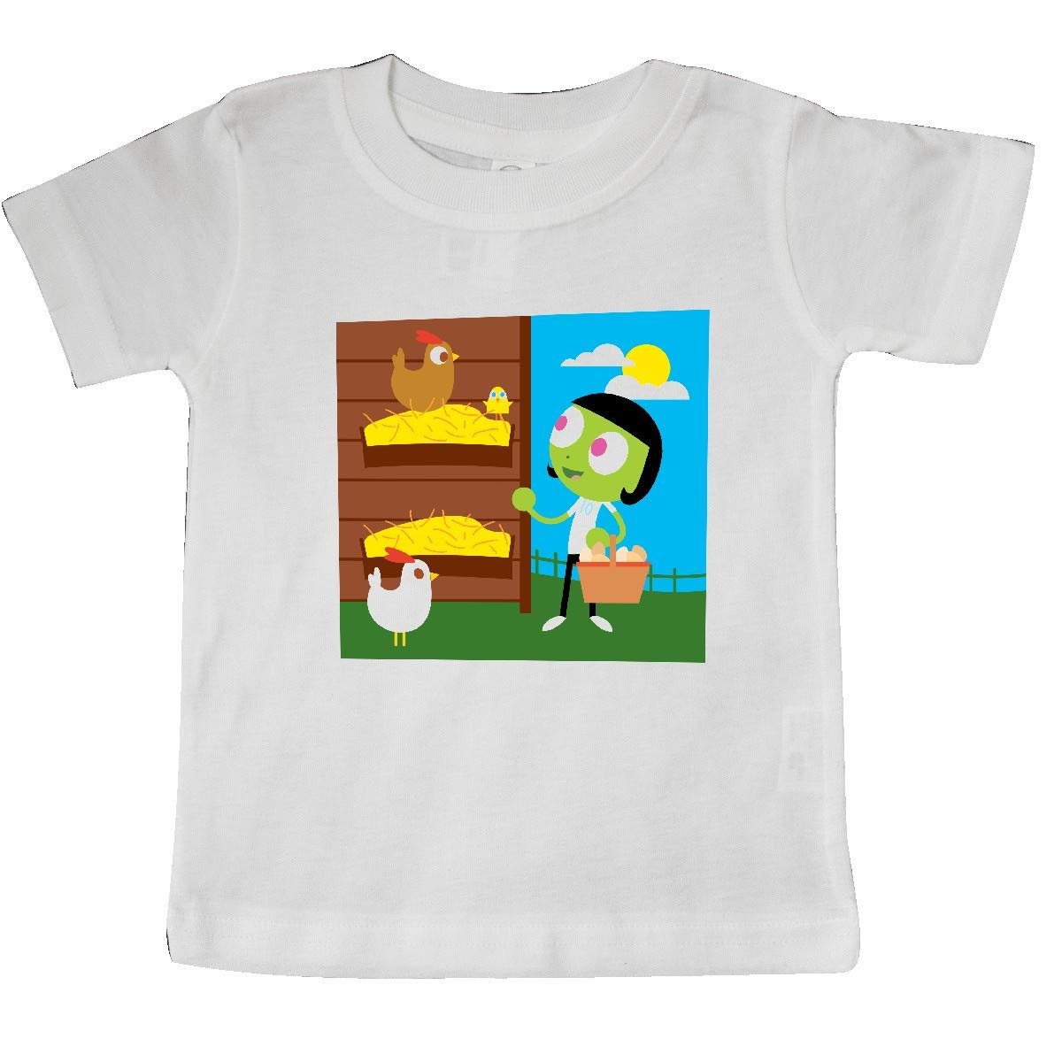 inktastic Dot Finds a Chick Baby T-Shirt PBS Kids