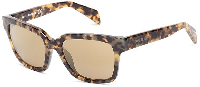 e20ee3e40b Diesel Women s Dl00735456g Dl0073 Wayfarer Sunglasses