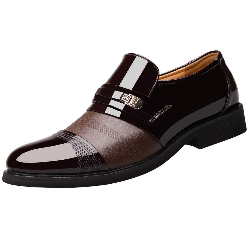 SPEEDEVE Mocasines de Cuero para Hombre: Amazon.es: Zapatos y complementos