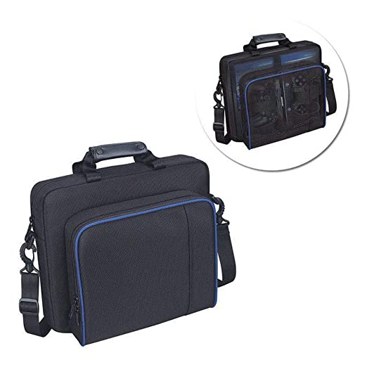 Amazon.com: Tiean Compatible Sony Playstation 4 PS4 Multi-Pocket Console Case Travel Protective Padded Carry Bag Shoulder Strap: Toys & Games