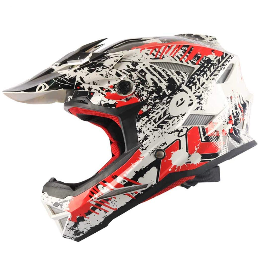 M/änner Frauen Universal Motocross Helme Abs Material Professionelle Off Road Extreme Motorradhelme Anti Crash Downhill Racing Schutzkappen