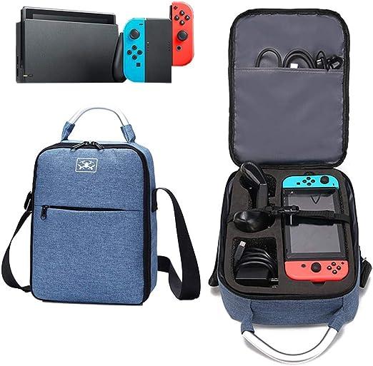 Enjoyyouselves - Funda de Transporte para Nintendo Switch, Maleta ...