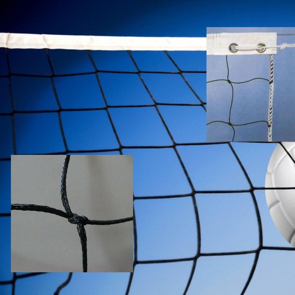 Red de voleibol modelo amateur. Polietileno trenzado 3mm ø Redes Deportivas On Line