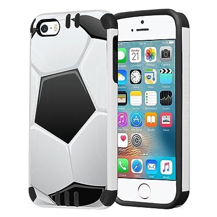 Amazon.com: iPhone se caso, capsule-case Hybrid Dual Capa ...