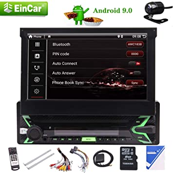 EINCAR Android 9 0 Pie system GPS Navigation Stereo: Amazon