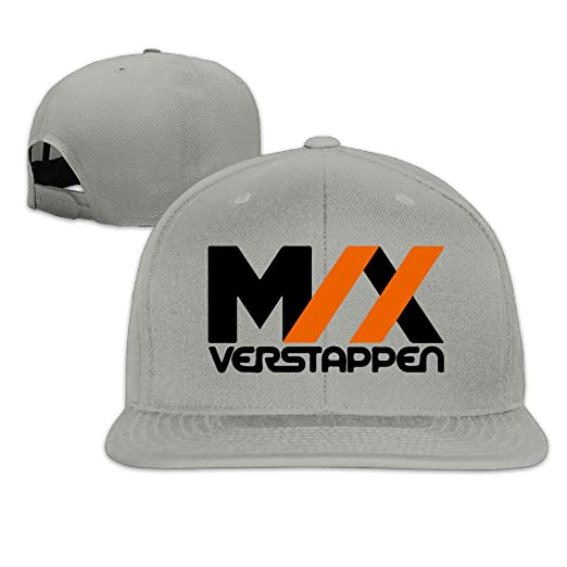 7f7a303896a Amazon.com  V Vstaen Max Verstappen Logo Ash Adult Unisex Adjustable Hip-hop  Caps  Clothing