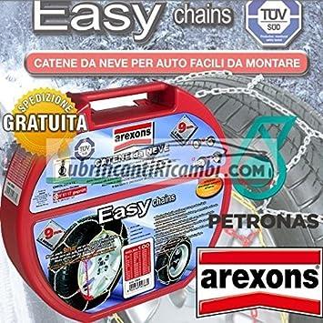 Arexons Easy Chains Cadenas de nieve para coche de 9 mm, homologadas TUV y GS Ö Norm - Tamaño: 110: Amazon.es: Coche y moto