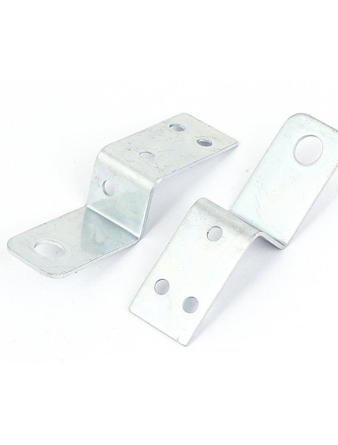70mmx18mm Z-Form-Shelf-Ecke Platte rechtwinklig Bracket 10pcs